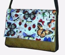 Butterfly Carpet Bag 4uni/college/work/holiday Unique Stylish Fashionable