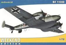 Messerschmitt bf 110 d (luftwaffe over norway MKGS) 1/72 eduard weekend edition