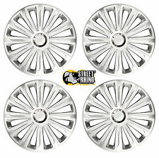 "15"" Universal Trend RC Wheel Cover Hub Caps x4 Ideal For Renault GTA"
