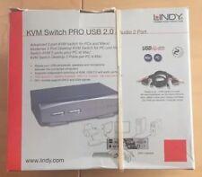 Lindy Kvm Pro DVI-I USB 2.0 AUDIO