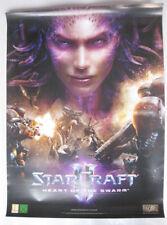 StarCraft 2-Heart of the Swarm Store Promo Poster-enrollado-a1 formato