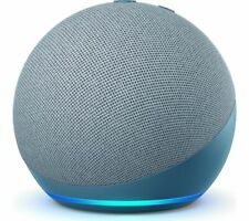 AMAZON Echo Dot (4th Gen) Smart Speaker Voice Commands Twilight Blue - Currys