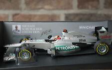 Michael Schumacher Mercedes AMG Petronas F1 Team W03 2012 Minichamps