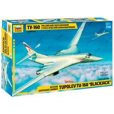 """ZVEZDA 7002 Model Kit """"Russian Supersonic Bomber TU-160 BLACKJACK"""""""