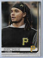 2019 Topps Series 2 Baseball Short Print Variation Chris Archer #380 Pittsburgh