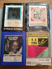 B.B. King -  8 Track Tapes Lot Of 4 -  Used Blues Tested