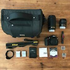 Nikon D3400 DSLR Camera (Pre-Owned) - Bundle!!!!! 14 ITEMS!!!