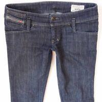 Ladies Womens Diesel MATIC 008WZ Stretch Skinny Blue Jeans W28 L32 UK Size 8