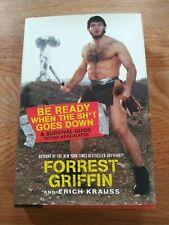UFC MMA Legend Forrest Griffin autographed signed Book