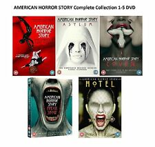 AMERICAN HORROR STORY Complete Collection 1-5 DVD Boxset Season 1 2 3 4 5 UK Rel