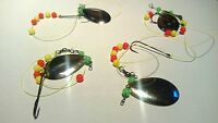 4 FLATFISH RIGS FLOUNDER PLAICE DABS ETC 12