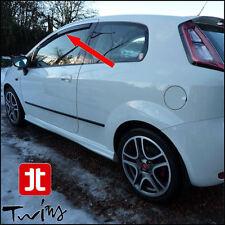 Deflettori Antiturbo Oscurati Fiat Grande Punto Punto Evo Abarth 3 Porte 3p