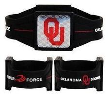 "NEW Oklahoma Sooners Ionic Bracelet Balance 7.5"" Power Force Hologram Dual Sport"