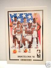 NBA Olympic Michael Jordan superstars basketball team insert card 1992