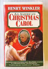 An American Christmas Carol (VHS) Henry Winkler ~ The Fonz ~ RARE Movie Tape