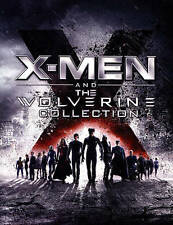 X-Men and The Wolverine Collection (6-DISC BLU-RAY SET) Fast Shipping...