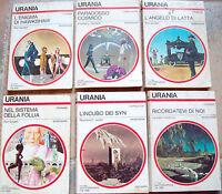 1979 LOTTO 6 ROMANZI URANIA 3 DI RON GOULART, HARNESS, JONES, LEONARD DAVENTRY