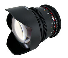Rokinon 14mm T3.1 Wide Angle Cine Lens For Micro Four Thirds MFT - CV14M-MFT