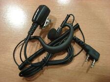 Micro auricular para Walkies KENWOOD con cable reforzado - ADI, REXON, DYNASCAN
