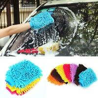Microfiber Chenille Car Window Washing Cleaning Cloth Duster Towel Gloves