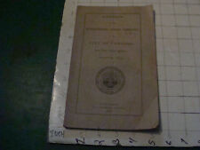 original Concord NH 1859 reports of the Superintending School Committees 35pgs