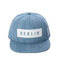 ROBIN RUTH Cap Berlin blau/weiß NEU Dezente Basecap Mütze Kappe gerades Schild