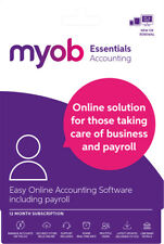 New MYOB - Essentials Accounting with Payroll - 12 Months - Digital Delivery