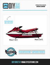 GTS GTX DI LTD 4-TEC GTI LE RFI SEA DOO BURGUNDY MAROON Seat Skin Cover 96-02 !