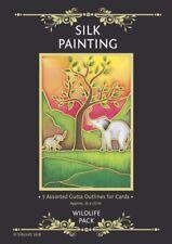 Silkcraft Silk Painting Gutta Outlines - Card Making - Wildlife Pack (Pack of 5)
