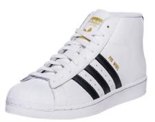 Adidas Originals Men's PRO MODEL Shoes White/Black S85956 Mens 6 NEW! Hi Top