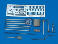 Royal Model 1/35 Tiger II (King Tiger) Tank Tools and Holders WWII [with PE] 456