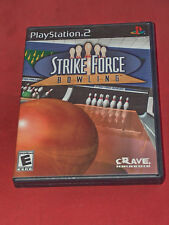 Strike Force Bowling Sony PS2 2004 Video Game W/ Instructions FREE SHIPPING USA