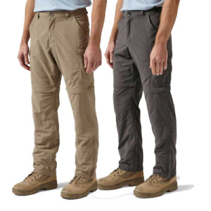 Craghoppers Nosilife Convertible Trousers CMJ368 Solarshield RRP£70.00