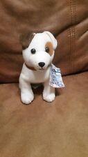 "Denny's Wishbone dog Plush 6"" Gullifur's Travels Jack Russel with tags 1999 EUC"
