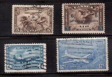 CANADA 1928/46 AIR MAIL LOT 4 STAMPS USED  !!  A371