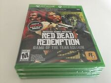 Red Dead Redemption -- Game of the Year Edition (Microsoft Xbox 360, One 2011)