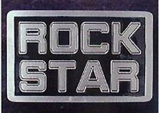 ROCK STAR belt buckle sex punk metal buckles