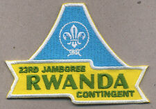 23rd world scout jamboree RWANDA CONTINGENT 4 scouts and 1 leader TOTAL 2015