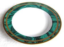 Christian Dior fine china Gaudron Malachite large rim soup bowl~Pristine-NR