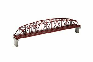 TOMIX Fine Track Double Track Curved-Chord Truss Bridge Set (F) (with 2 Concret