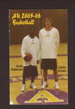 Ashland Eagles--2005-06 Basketball Pocket Schedule--Holiday Inn Express