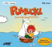 ELLIS KAUT - PUMUCKL: SOMMERGESCHICHTEN - GELESEN VON STEFAN KAMINSKI  2 CD NEW