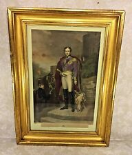 Antique Henry Sadd Engraving of His Royal Highness Prince Albert of England