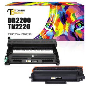 Toner + Trommel für Brother TN-2220 DR-2200 HL-2240 HL-2250DN MFC-7360N DCP-7055