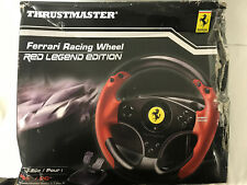 Thrustmaster - Ferrari Red Legend Edition Racing Wheel for PC and Sony PS3