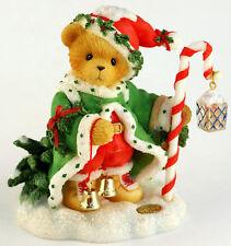 Cherished Teddies - WOLFGANG - NEU - Limitiert - Weihnachten 2000 - SANTA