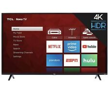 TLC 32 inch 1080p Roku LED Smart TV