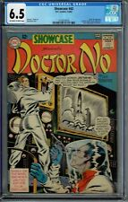 CGC 6.5 SHOWCASE #43 DOCTOR NO 1ST APPEARANCE JAMES BOND IN COMICS 1963 OW/W PGS