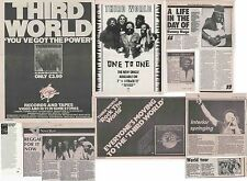 Third World : Cuttings Collection -adverts interviews-