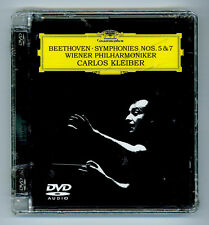 Beethoven Symphonies 5 & 7 Carlos Kleiber Wiener Philharmoniker DVD Audio Sealed